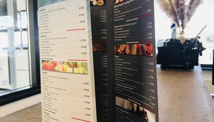 Beachline menukaart kopieren